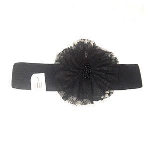 🆕 NWT Decorative Flower Stretch Belt